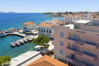spetses hotel roumani on spetses island